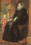 Dyck, Anthony van Genoese Noblewoman with her Son oil painting picture wholesale