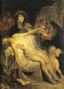 Dyck, Anthony van The Lamentation oil painting artist