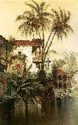 Edwin Deakin Old Panama oil painting picture wholesale