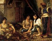 Eugene Delacroix Women of Algiers oil painting picture wholesale