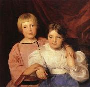 Ferdinand Georg Waldmuller Children oil painting artist