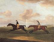 Francis Sartorius The Race For The King's Plate at Newmarket,6th May 1797,Won By 'Tottenridge' oil painting picture wholesale