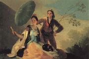 Francisco de goya y Lucientes The Parasol oil painting picture wholesale