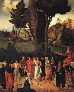 Giorgione THe Judgment of Solomon oil painting picture wholesale