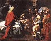 Giovanni Battista Spinelli David Soothing Saul's Anguishwith His Harp oil painting picture wholesale