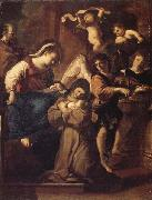Giovanni Francesco Barbieri Called Il Guercino The Vistion of St.Francesca Romana oil painting picture wholesale