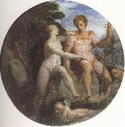 Girolamo Macchietti Venus and Adonis oil painting picture wholesale