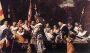 HALS, Frans Officers and Sergeants of the St Hadrian Civic Guard oil painting picture wholesale