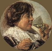 HALS, Frans Drinking Boy (Taste) oil painting picture wholesale