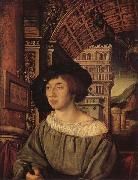 HOLBEIN, Ambrosius Portrait of a Gentleman oil painting picture wholesale