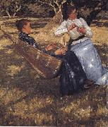 Henry Herbert La Thangue In the Orchard oil painting artist