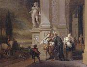 Jan Weenix The Departure of the prodigal son oil painting picture wholesale