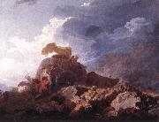Jean Honore Fragonard The Storm oil painting picture wholesale