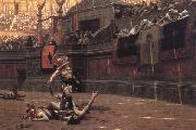 Jean-Leon Gerome Pollice Verso oil painting artist