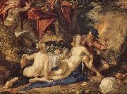 Joachim Wtewael Lot and His Daughter oil painting picture wholesale