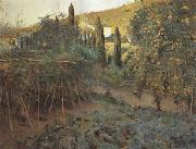 Joaquin Mir Trinxet The Hermitage Garden oil painting picture wholesale
