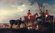 John Ferneley John,Henry and Francis Grant at Melton oil painting artist