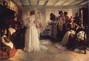 John H F Bacon The Wedding Morning oil painting artist