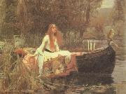 John William Waterhouse The Lady of Shalott oil painting picture wholesale