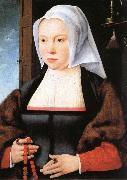 Joos van cleve Portrait of a Woman oil painting artist