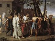 Juan Antonio Ribera Y Fernandez Cincinnatus Leaving the Plough to Bring Law to Rome oil painting picture wholesale