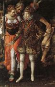 Justus Tiel Allegory of the Edcation of Philip III oil painting picture wholesale