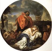 LE BRUN, Charles Jephthah's Sacrifice oil painting picture wholesale