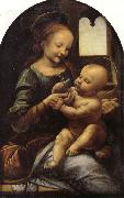 LEONARDO da Vinci The Benois Madonna oil painting picture wholesale