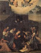 MAZZOLINO, Ludovico The Adoration of the Shepherds oil painting picture wholesale