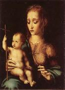 MORALES, Luis de Madonna and Child with Yarn Winder oil painting artist