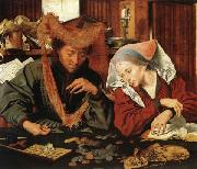 Marinus van Reymerswaele The Moneychanger and His Wife oil painting picture wholesale