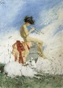 Marsal, Mariano Fortuny y Idyll oil painting picture wholesale