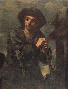 Monsu Bernardo Young Peasant Boy oil painting picture wholesale