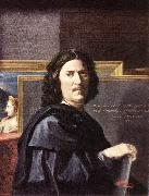 POUSSIN, Nicolas Self-Portrait oil painting picture wholesale