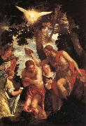 Paolo Veronese The Baptism of Christ oil painting picture wholesale