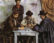 Paul Cezanne The Card Players oil painting picture wholesale