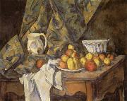 Paul Cezanne Still Life with Apples and Peaches oil painting picture wholesale