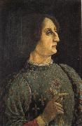Piero pollaiolo Portrait of Galeazzo Maria Sforza oil painting picture wholesale