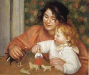 Pierre Renoir Child with Toys(Gabrielle and Jean) oil painting picture wholesale