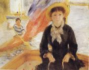 Pierre Renoir Girl in a Boat oil painting picture wholesale
