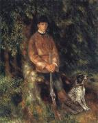 Pierre Renoir Alfred Berard and his Dog oil painting picture wholesale