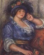 Pierre Renoir Young Girl with a Rose (Mme Colonna Romano) oil painting picture wholesale