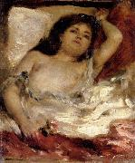 Pierre Renoir Reclining Semi-nude oil painting picture wholesale