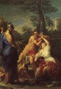 Pierre-Paul Prud hon Innocence Choosing Love over Wealth oil painting picture wholesale