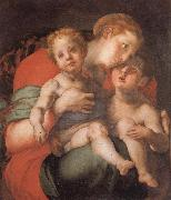 Pontormo Madonna and Child with the Young St.John oil painting picture wholesale