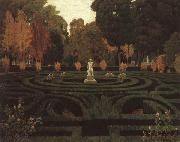 Prats, Santiago Rusinol The Old Faun oil painting picture wholesale