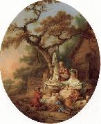 Prince, Jean-Baptiste le A Scene from Russian Life oil painting picture wholesale