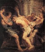 RUBENS, Pieter Pauwel The Flagellation of Christ oil painting picture wholesale