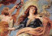 RUBENS, Pieter Pauwel Assumption of the Virgin (detail) oil painting picture wholesale