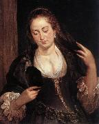 RUBENS, Pieter Pauwel Woman with a Mirror oil painting picture wholesale